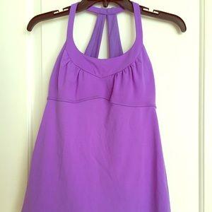 Lululemon Scoop Me Up Tank, 6, purple